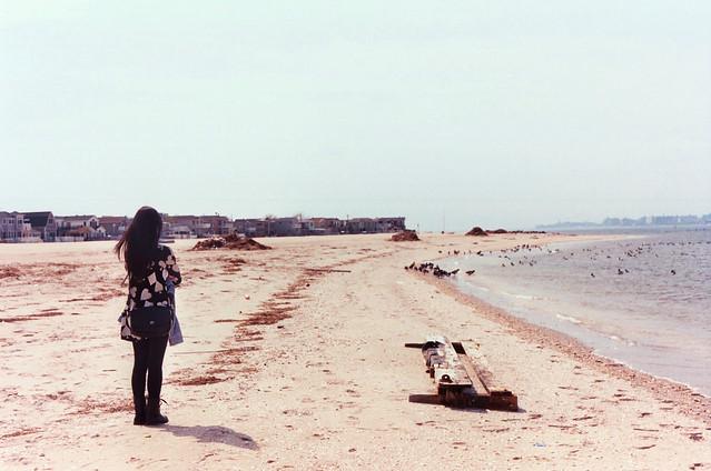 susie on the seashore