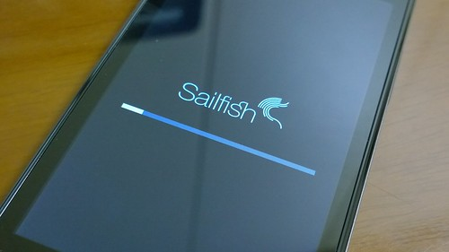 Sailfish OS updating...