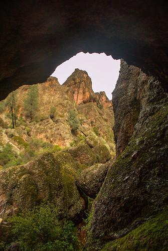 california park high view tunnel national soledad peaks pinnacles