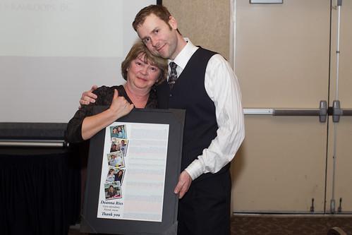 Deanna Ries and Jon Shephard (Apr 3, 2014 Snucins)