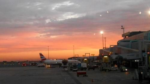 africa sunset airport south april friday johannesburg gauteng 2014 ortambo apr2014 04apr2014