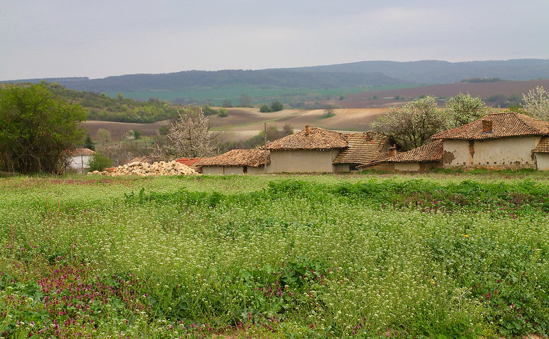 Typical Bulgarian countryside