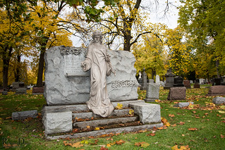 Bohemia National emetery, Chicago, IL (Illinois)