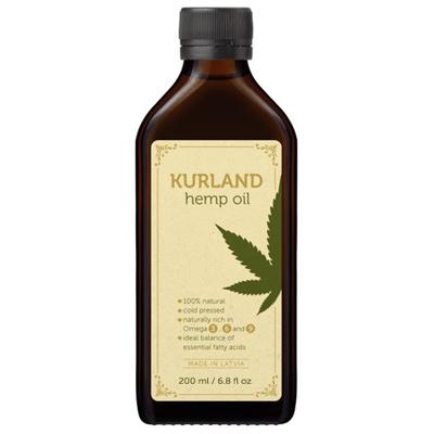 hemp seed oil 200ml bottle