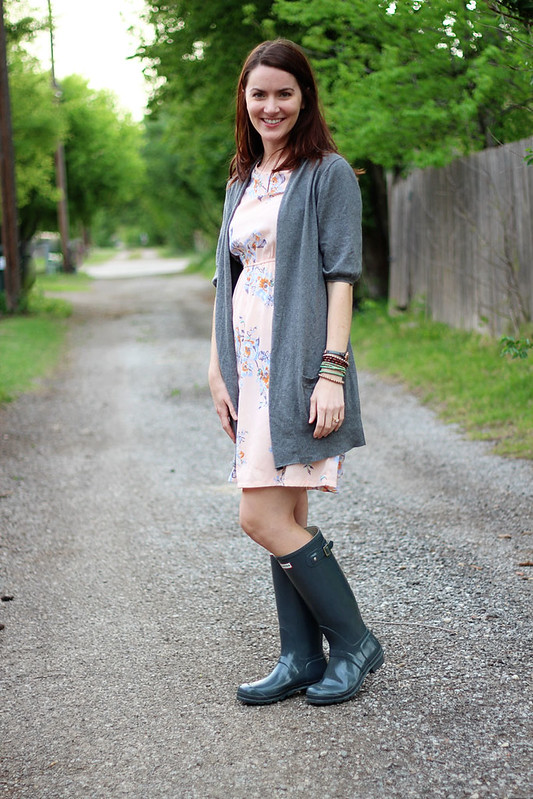 floral-dress-cardigan-wellies-2