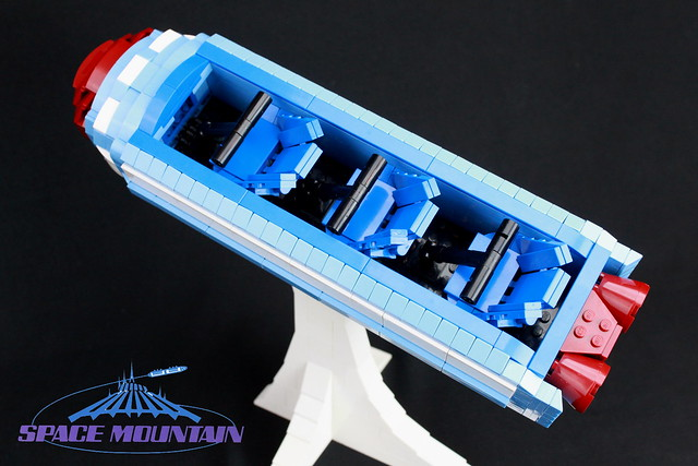 LEGO Space Mountain 6
