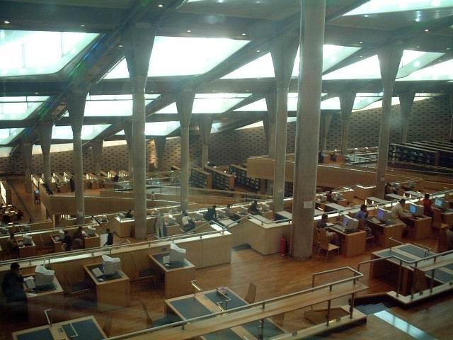 Alxandria Bibliothek 1
