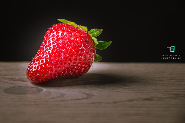 The elegance of a strawberry