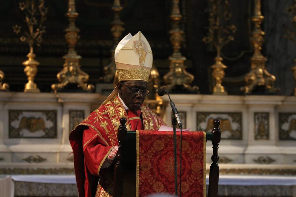 Cardinal Sarah preaching