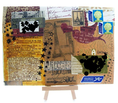 mail art 365-058 front by Miss Thundercat