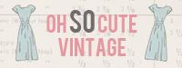 Oh So Cute Vintage