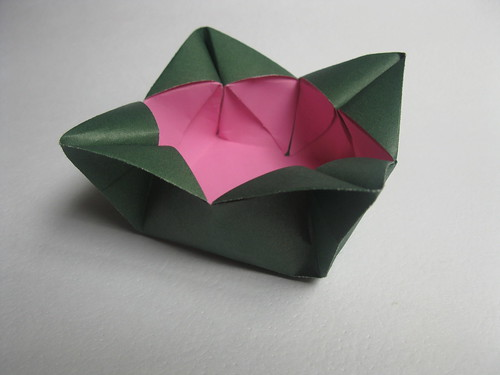 James Clark's Fancy Square Box