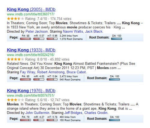 King Kong Google Search