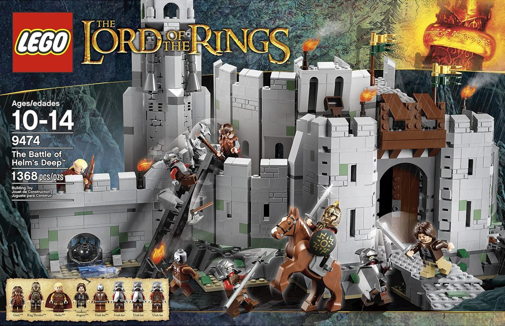 [Lego] Le Seigneur Des Anneaux revit avec le géant danois ! 6877664248_d4556b32e3_b
