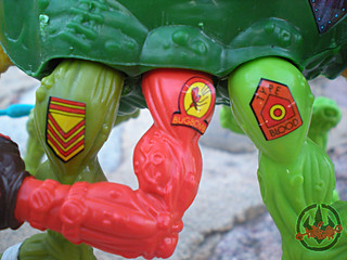 """MEGA MUTANTS"" TEENAGE MUTANT NINJA TURTLES :: NEEDLENOSE viii / ..tattoos (( 1990 ))"