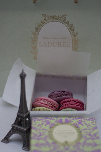 Laduree treats from Paris
