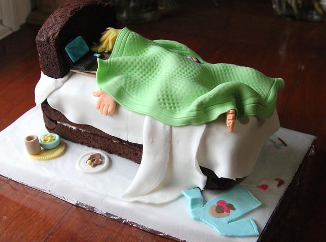 Sleepy Head Birthday Cake Flickr Photo Sharing