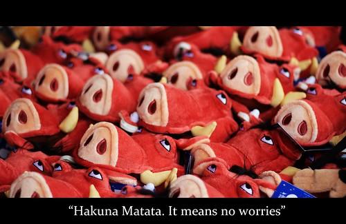 Hakuna Matata by Charlotte Judge