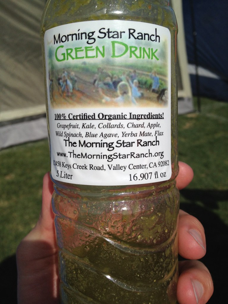 Morning Star Ranch Green Drink