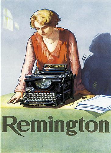 VintageRemingtonTypewriterAd