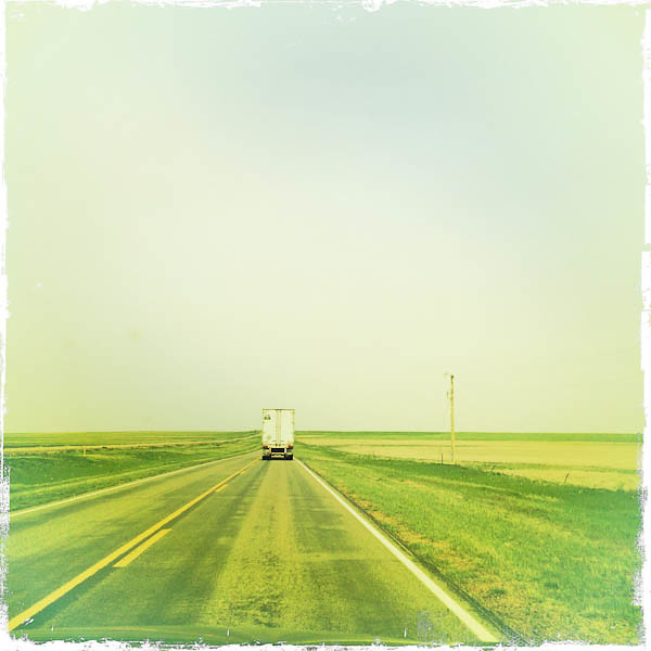 Oklahoma, Gray Skies, and a White Truck