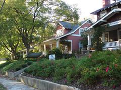 traditional homes, Greensboro, NC (by: Paula McLean, creative commons license)