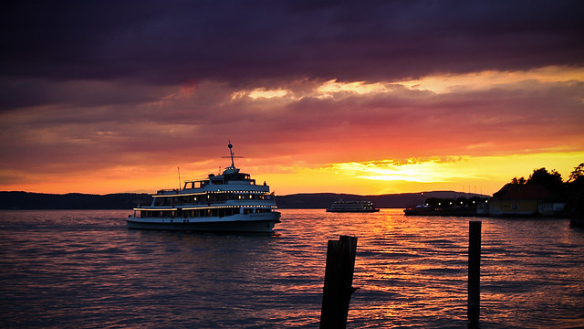 0280 - Germany, Meersburg, Sunset