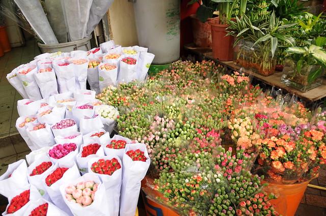 Mongkok Flower Market 旺角花墟