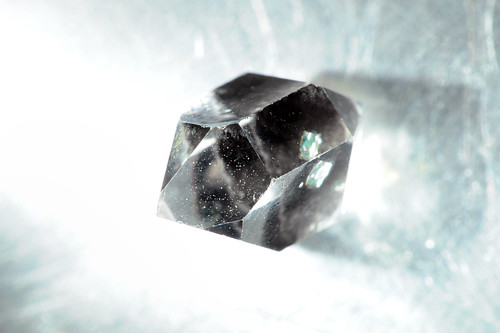 Oil in Rock Crystal