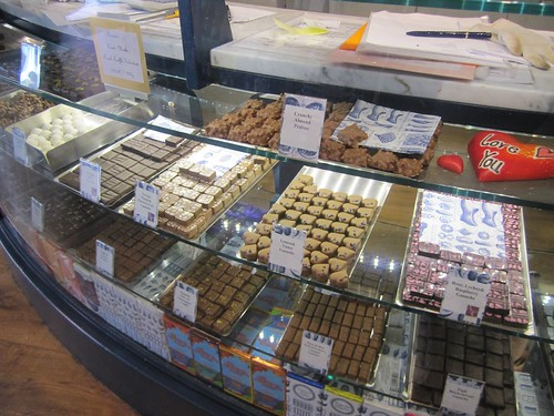 rococo chocolates counter