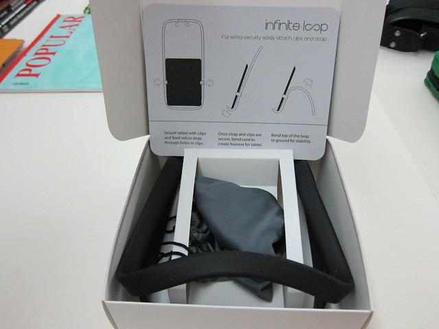 Infinite Loop Tablet Stand - Box Open