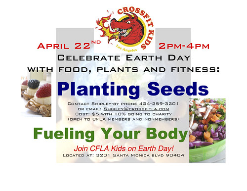 Earth Day event- April 22nd