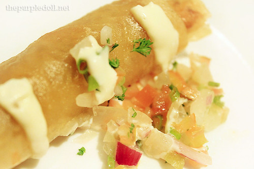 Beef Taco Spring Rolls P210