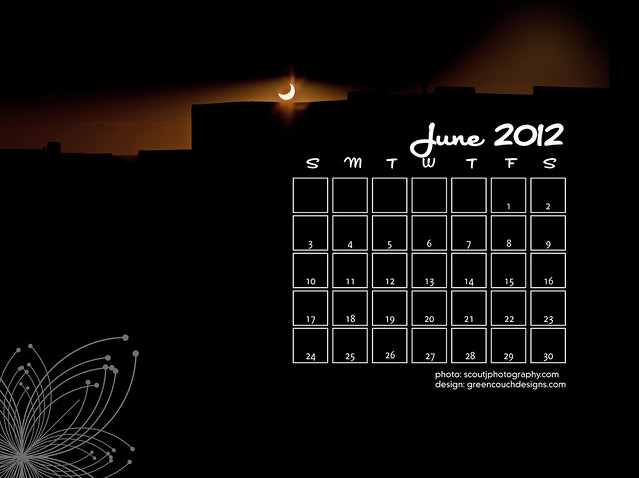 June 2012 Calendars