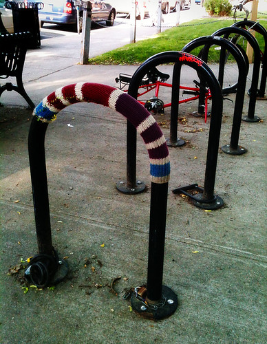 bike rack sweater
