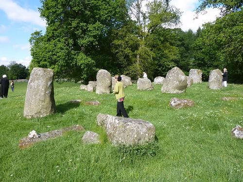 Croft Moraig Stone Circle, Perthshire, Scotland