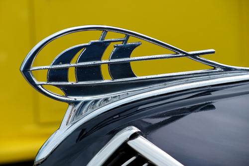 1932 Plymouth Hood Ornament