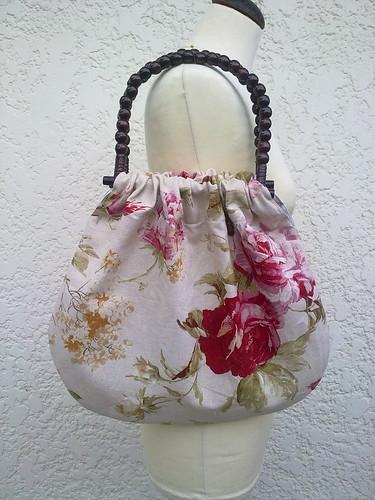 Bolsa em linho estampado by ♥Linhas Arrojadas Atelier de costura♥Sonyaxana