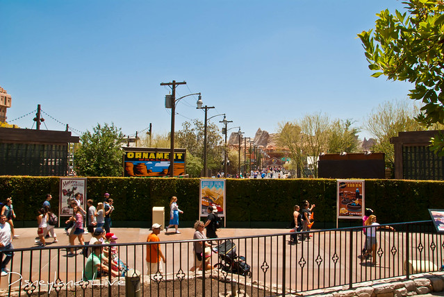 Cars Land - Pre Media Set Up