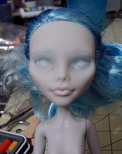 Ghoulia repaint wip 1