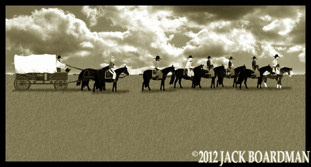 Roundup on the prairie ©2012 Jack Boardman
