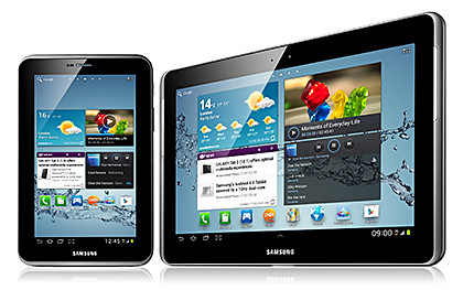 Samsung GALAXY Tab 2 (7) and GALAXY Tab 2 (10.1)