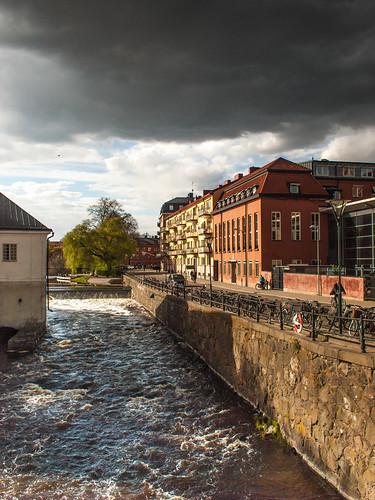 Uppsala - stormy sky