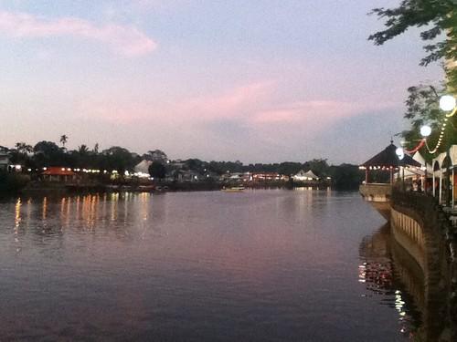 Kuching Waterfront Sunset