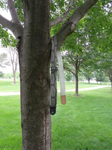 Guitar straps grow on trees