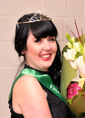 Catriona Young, representing the Hutt Valley Irish Society