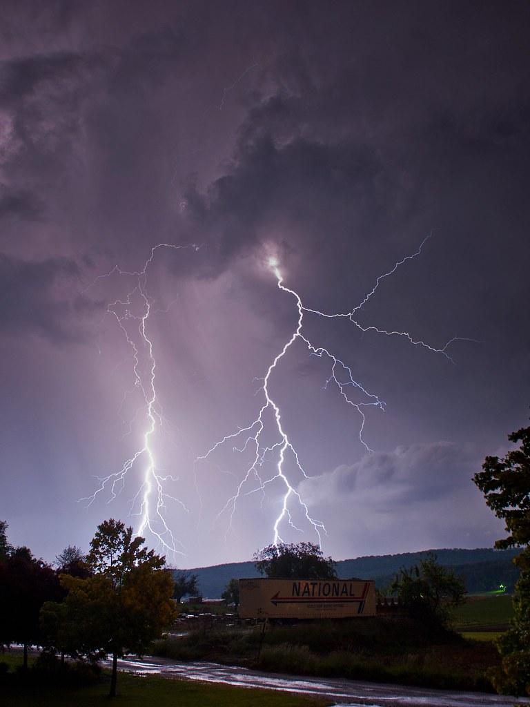 Lightning Morgantown Pa