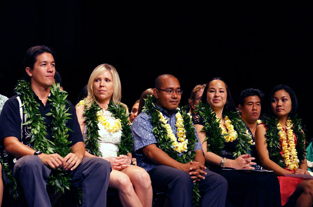 <p>The commencement ceremony for the UH Manoa John A. Burns School of Medicine Class of 2012 on Sunday, May 13 at Kennedy Theatre</p>