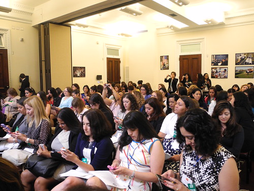 Latina-Bloggers-At-The- White- House