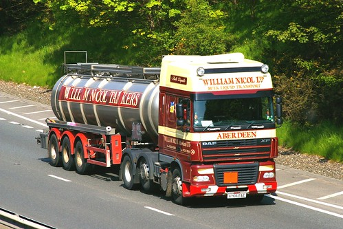 DAF XF - WILLIAM NICOL LTD. Bulk Liquid Transport Aberdeen